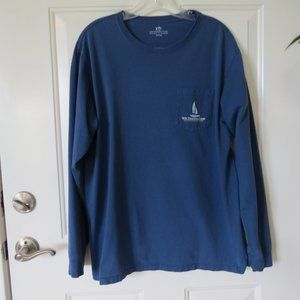 Southern Tide Long Sleeve Blue T-Shirt